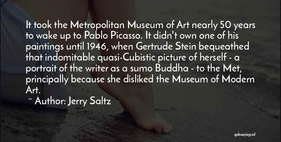 Metropolitan Quotes By Jerry Saltz