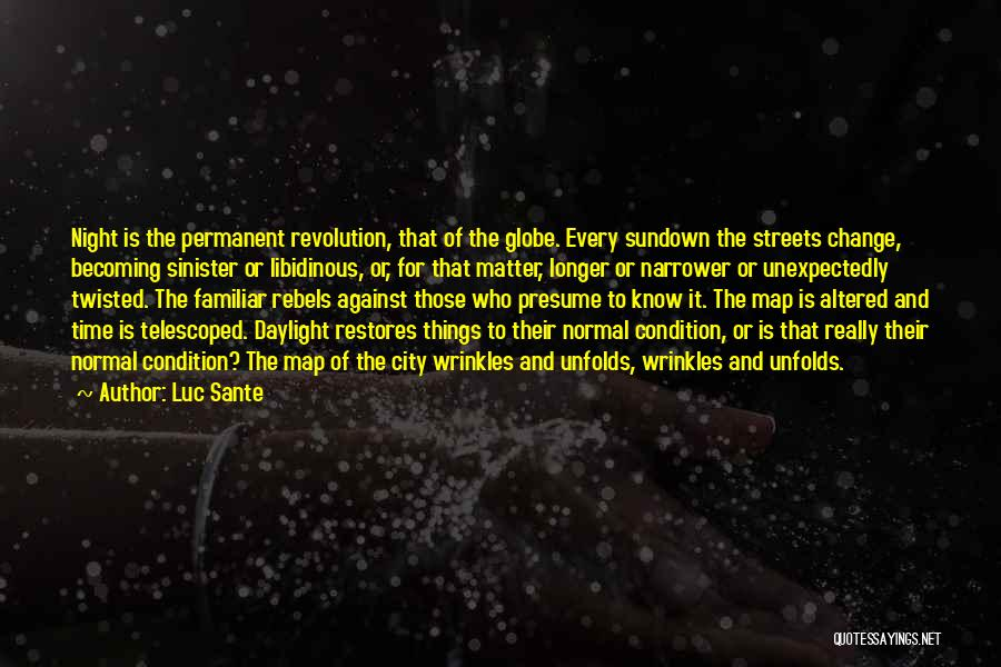 Metropolitan Quotes By Luc Sante