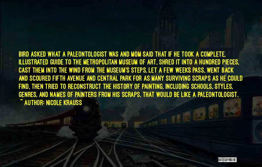 Metropolitan Quotes By Nicole Krauss