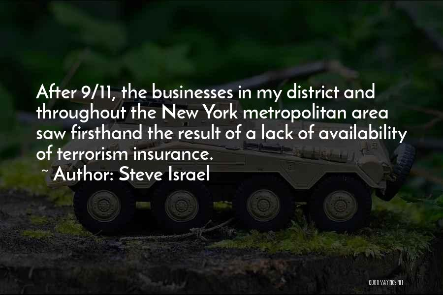 Metropolitan Quotes By Steve Israel