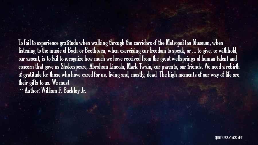 Metropolitan Quotes By William F. Buckley Jr.