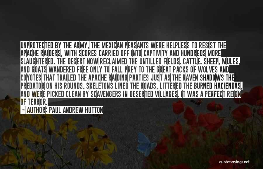 Mexican Quotes By Paul Andrew Hutton