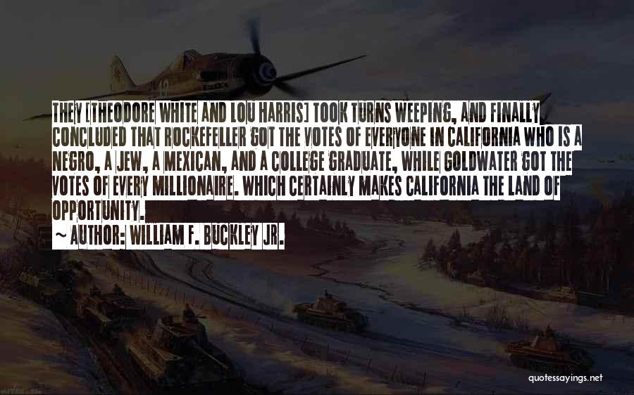 Mexican Quotes By William F. Buckley Jr.
