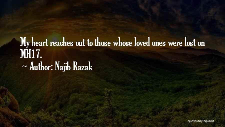 Mh17 Quotes By Najib Razak