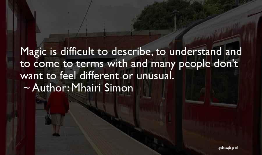 Mhairi Simon Quotes 1456816