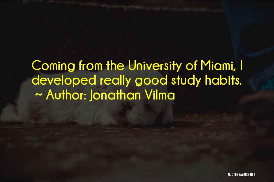 Miami University Quotes By Jonathan Vilma