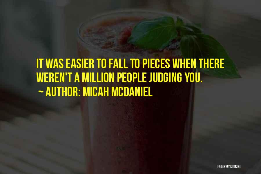 Micah McDaniel Quotes 115690