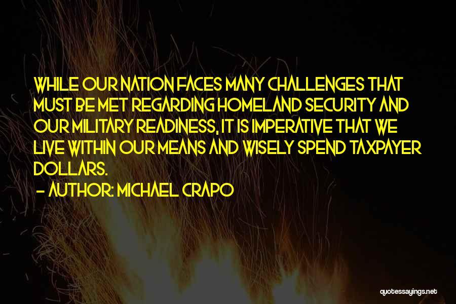 Michael Crapo Quotes 1944525