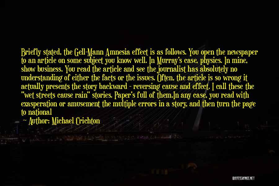Michael Crichton Quotes 127039