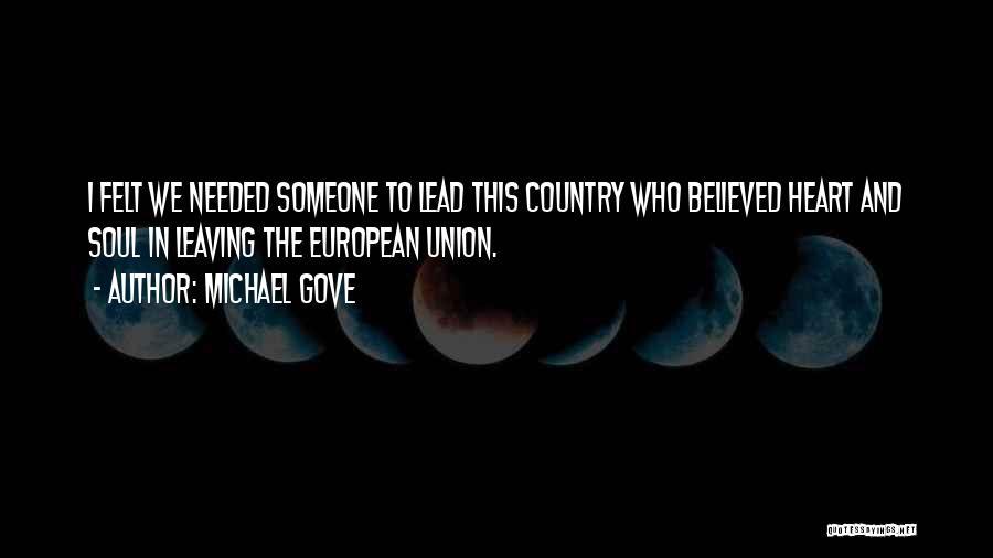 Michael Gove Quotes 1548790