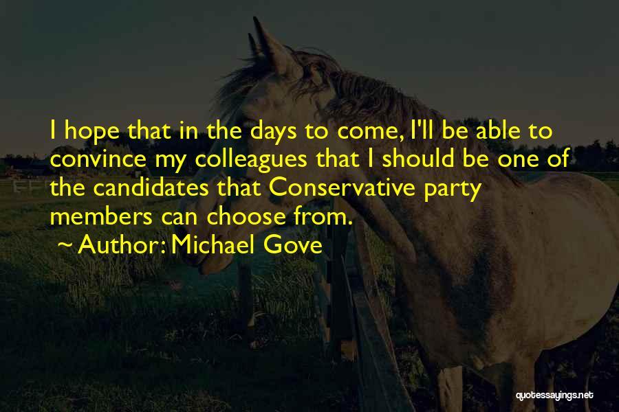Michael Gove Quotes 1605295