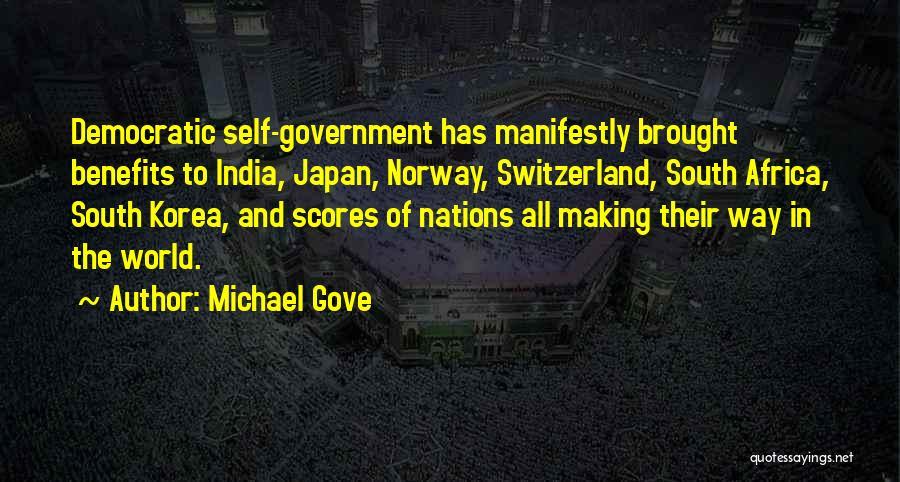 Michael Gove Quotes 1610649