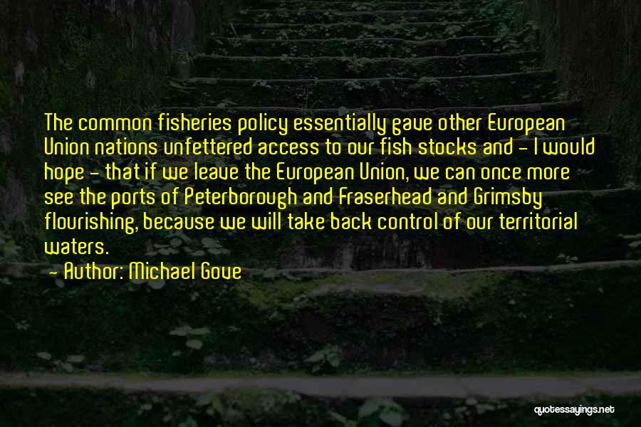 Michael Gove Quotes 1725565