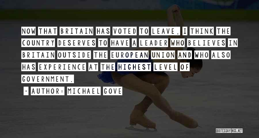 Michael Gove Quotes 1808406