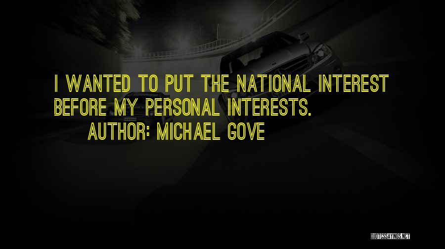 Michael Gove Quotes 1936283