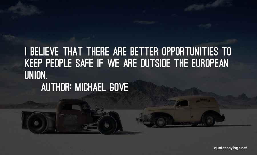 Michael Gove Quotes 405884