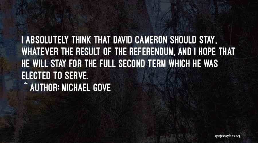 Michael Gove Quotes 640518