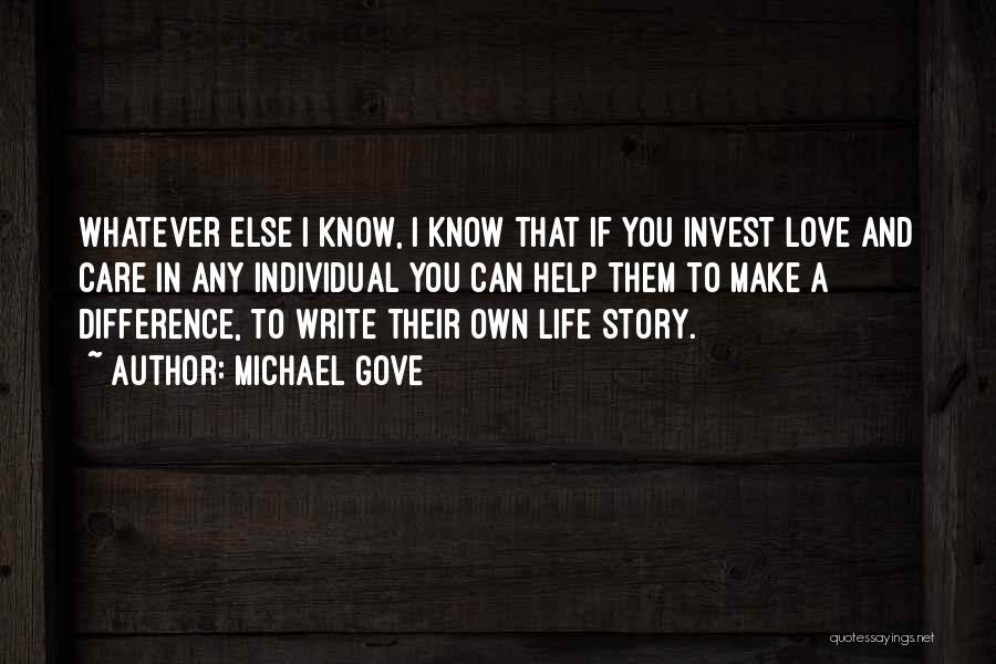 Michael Gove Quotes 953650