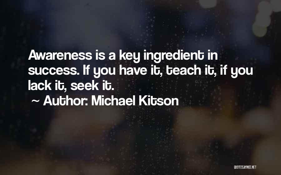 Michael Kitson Quotes 788112