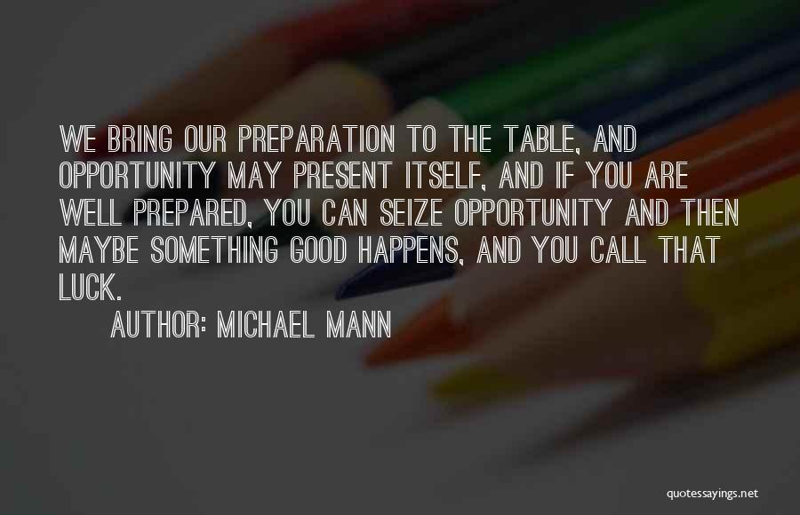 Michael Mann Quotes 551749