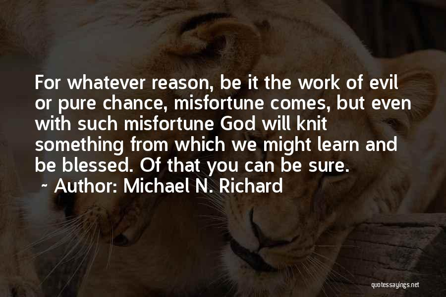 Michael N. Richard Quotes 1187273