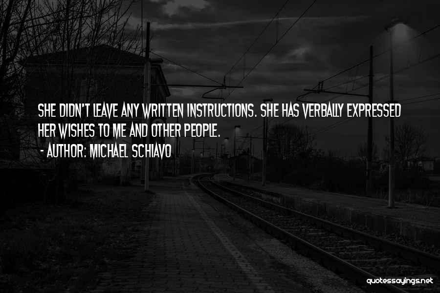 Michael Schiavo Quotes 1621045