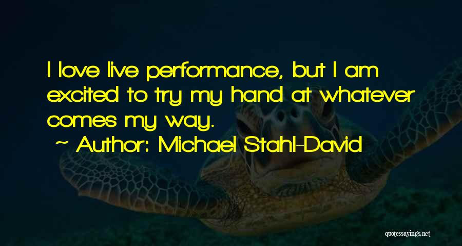 Michael Stahl-David Quotes 75310