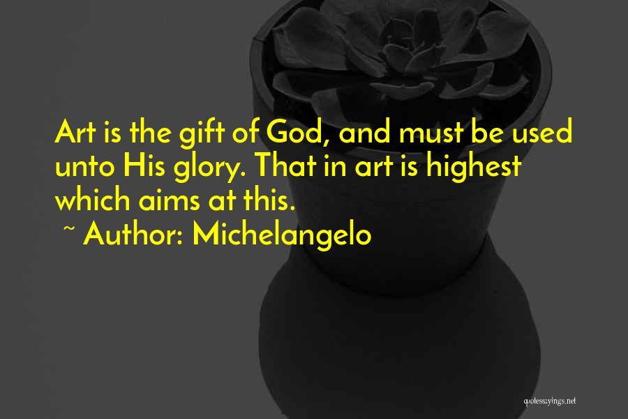 Michelangelo Quotes 1880254