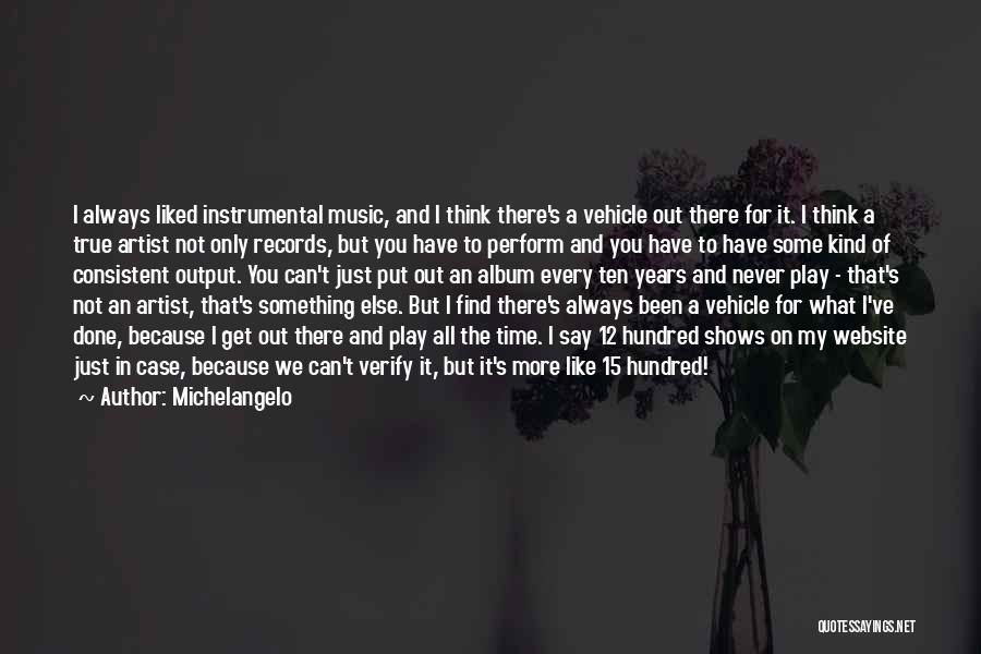Michelangelo Quotes 2056263