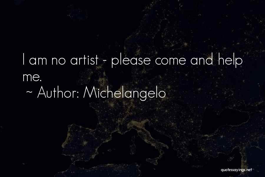 Michelangelo Quotes 281943