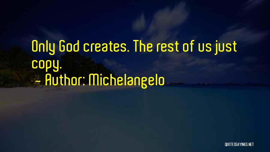 Michelangelo Quotes 315976