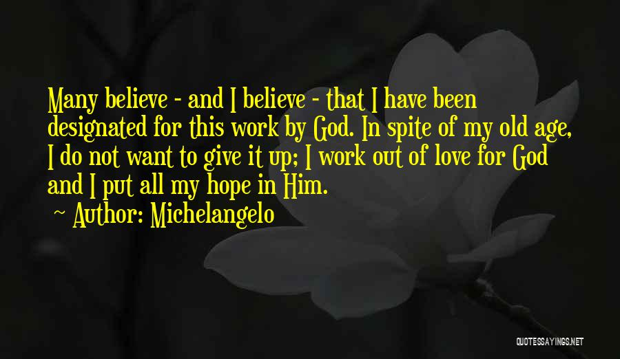 Michelangelo Quotes 510340