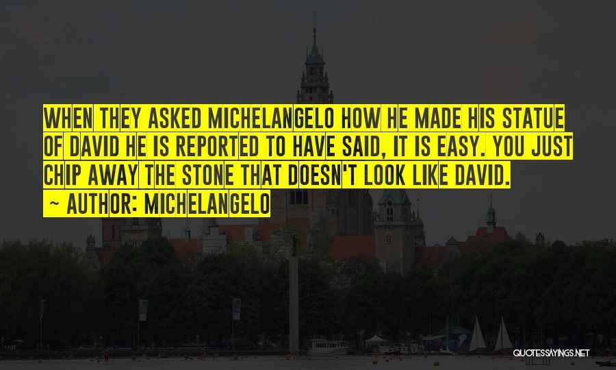 Michelangelo Quotes 553906