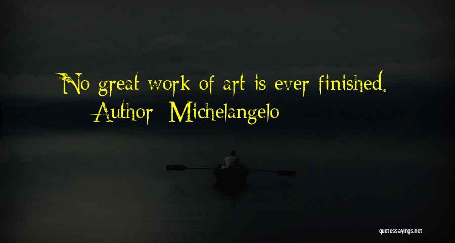 Michelangelo Quotes 650478