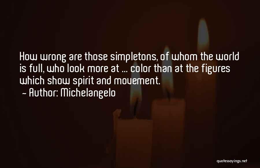 Michelangelo Quotes 87203