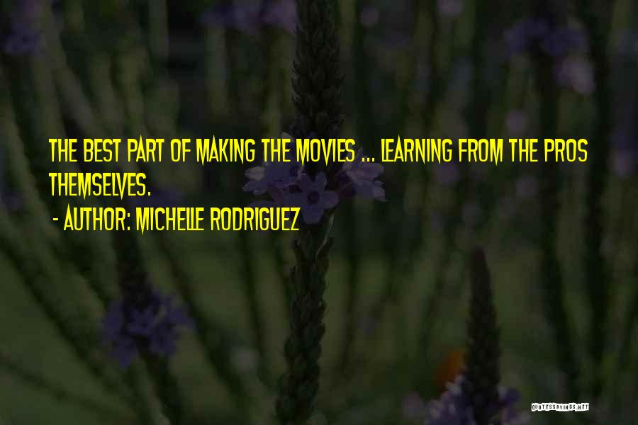 Michelle Rodriguez Quotes 1045798