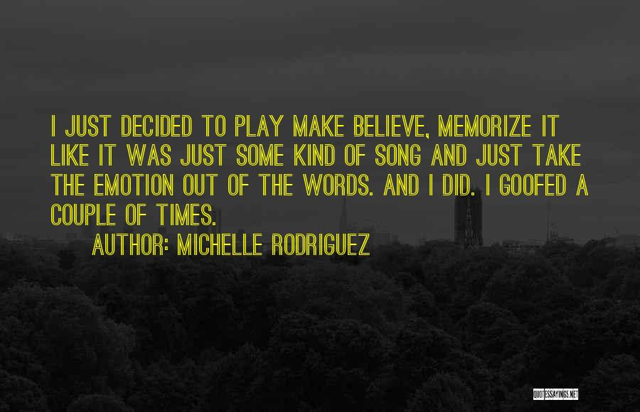 Michelle Rodriguez Quotes 1235090