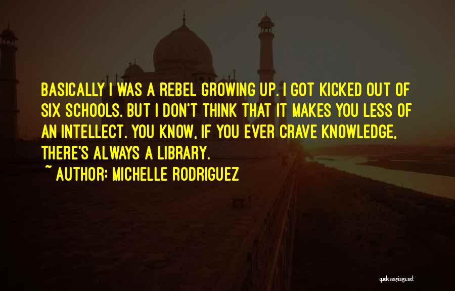 Michelle Rodriguez Quotes 149912