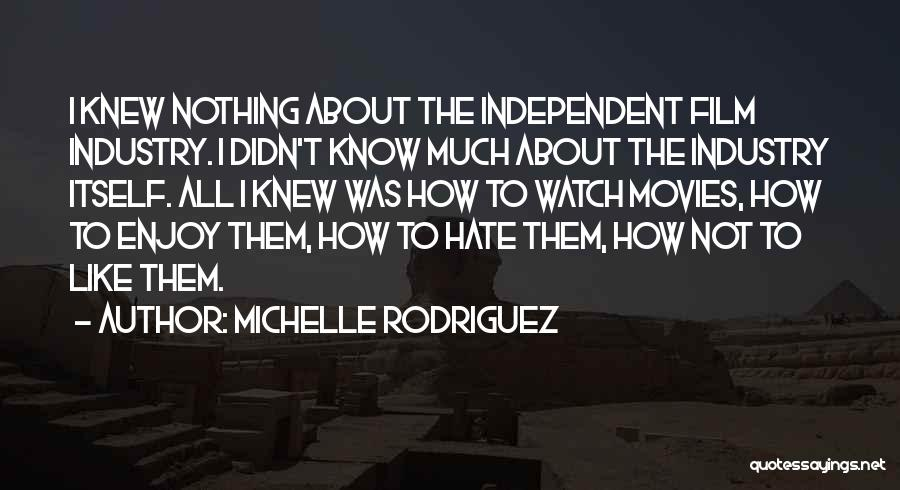 Michelle Rodriguez Quotes 178163