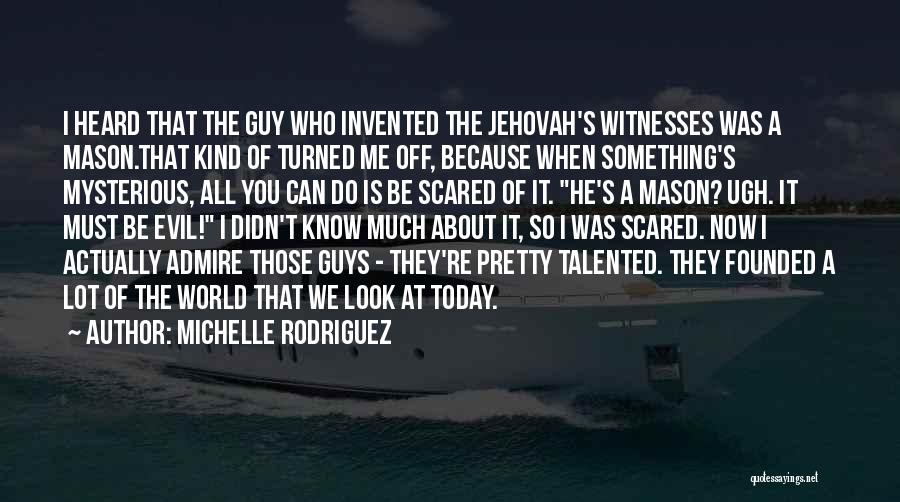Michelle Rodriguez Quotes 1863573