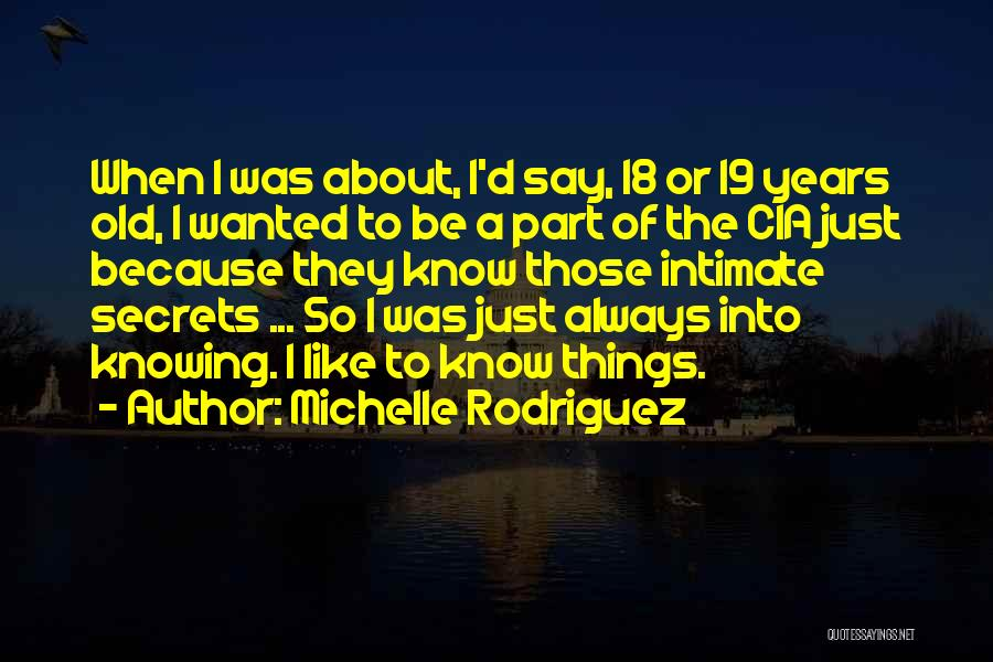Michelle Rodriguez Quotes 2009954