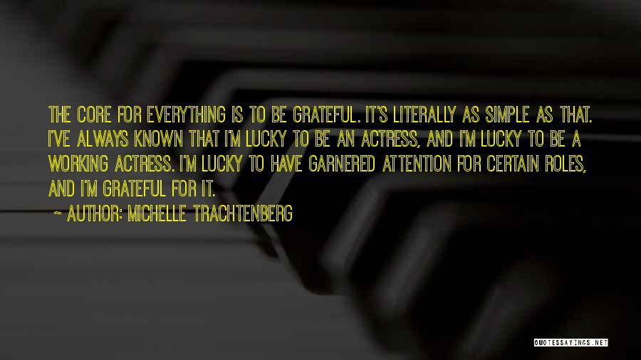 Michelle Trachtenberg Quotes 2063035