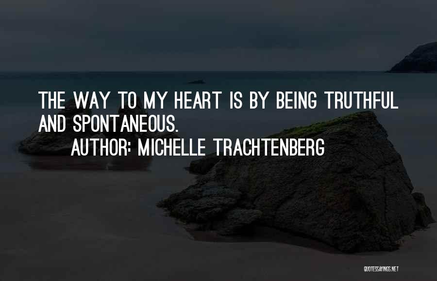 Michelle Trachtenberg Quotes 433812