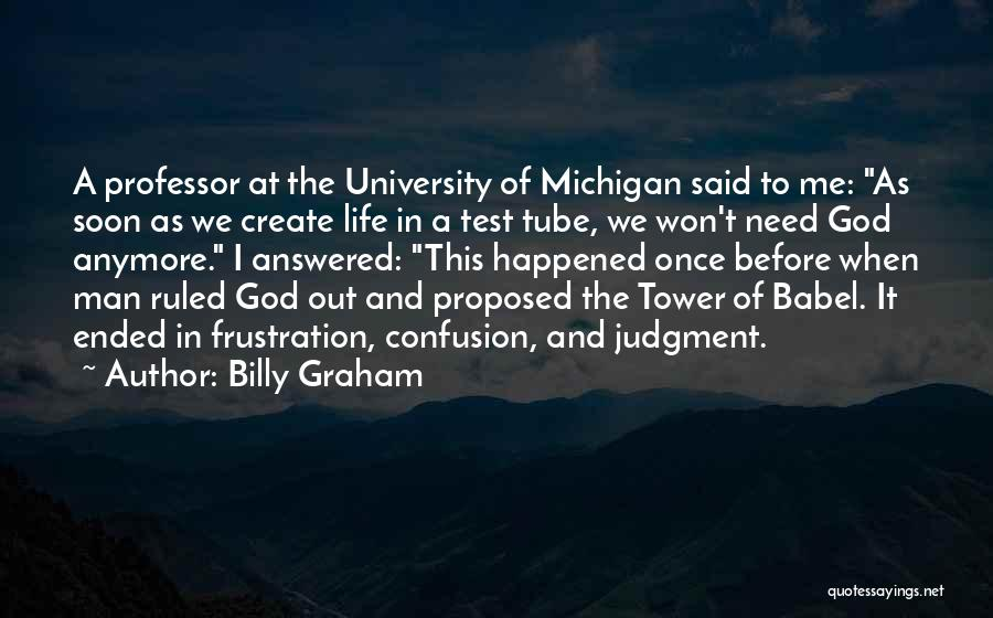 Michigan Quotes By Billy Graham