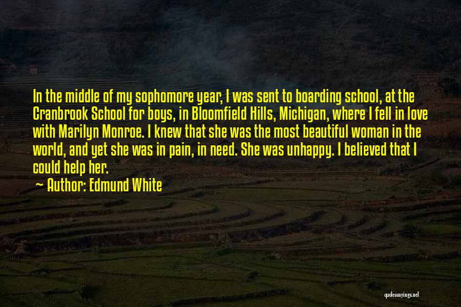 Michigan Quotes By Edmund White