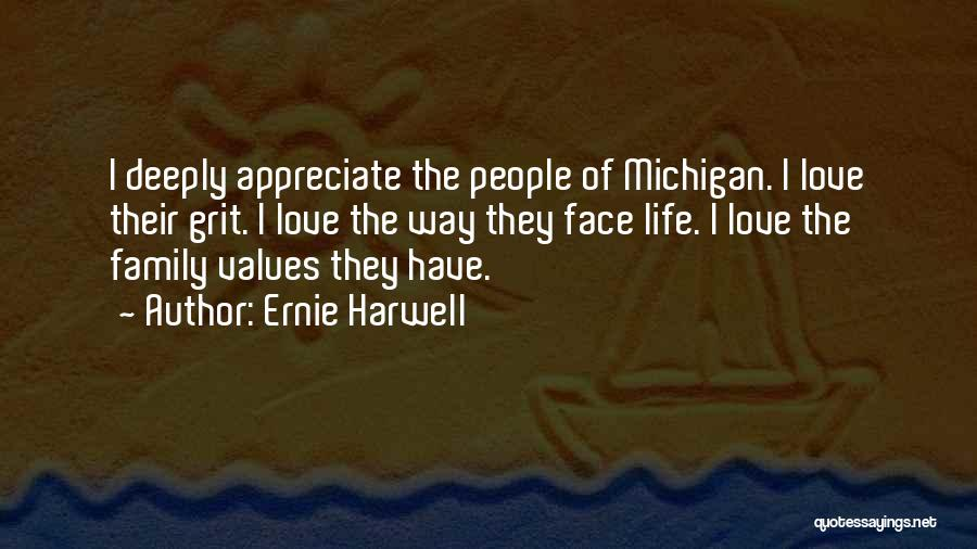 Michigan Quotes By Ernie Harwell