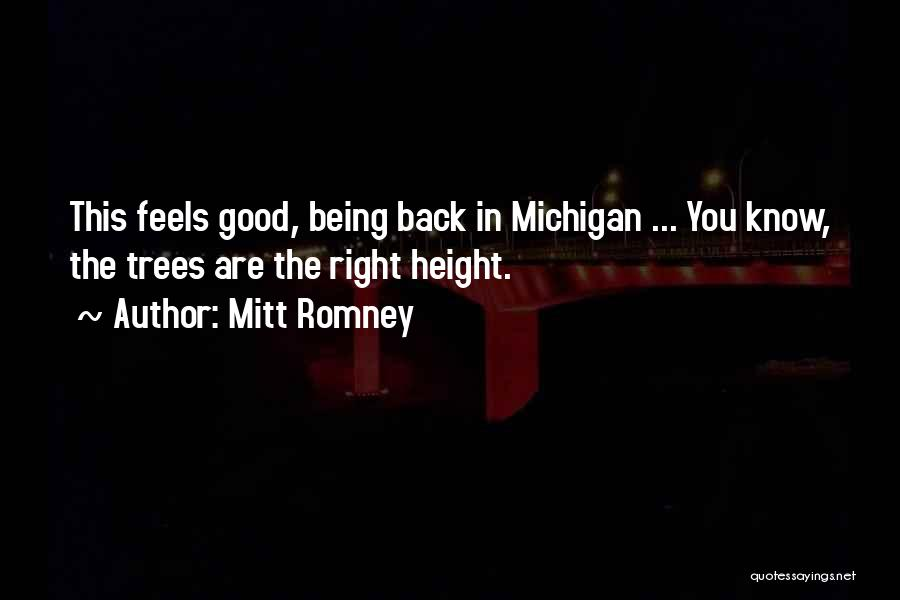 Michigan Quotes By Mitt Romney
