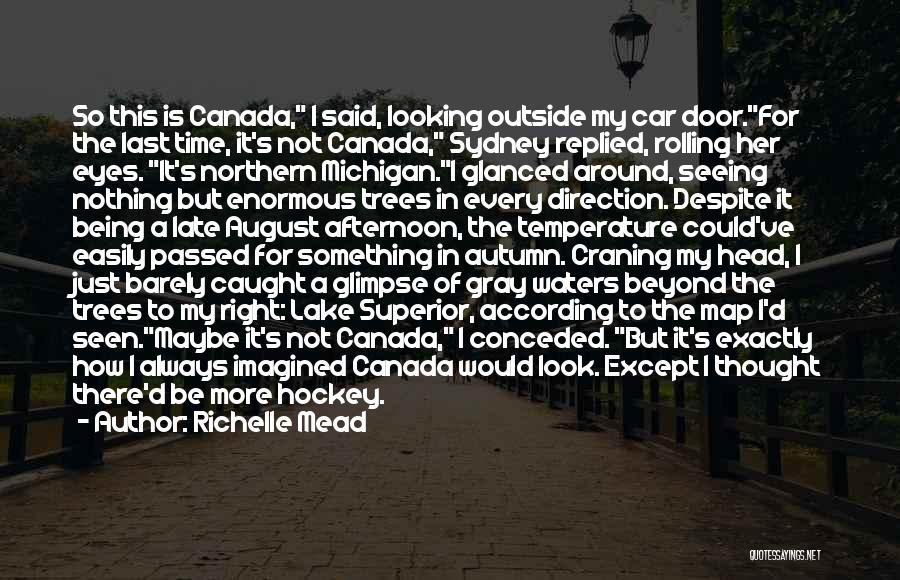 Michigan Quotes By Richelle Mead