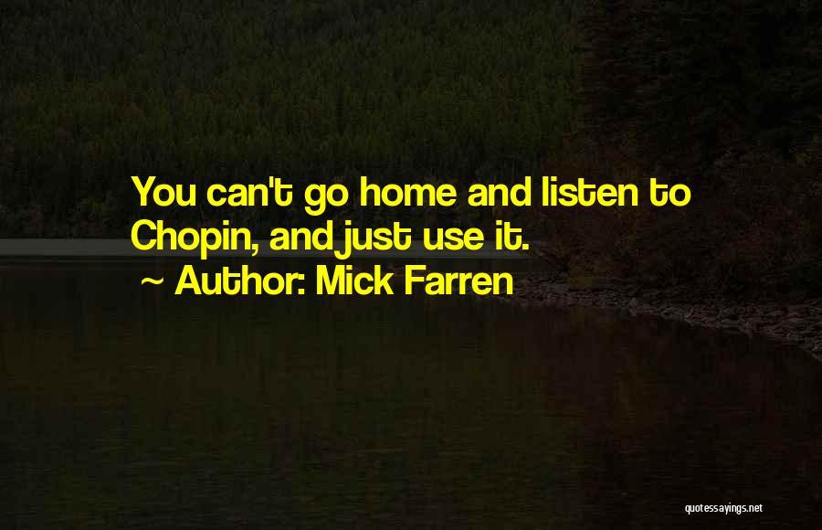 Mick Farren Quotes 519092