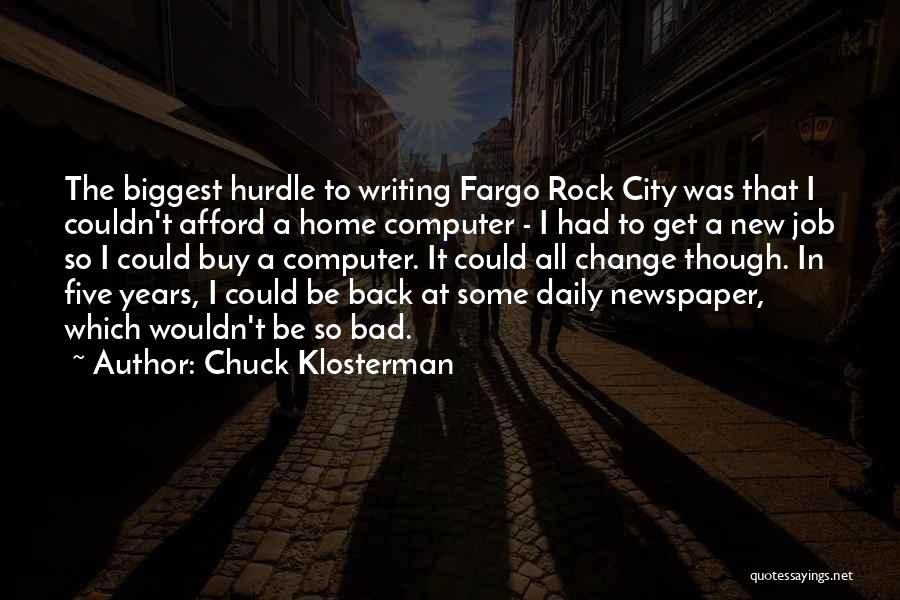 Mick Thomson Quotes By Chuck Klosterman